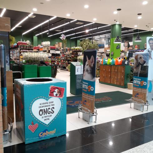 Campanha do Agasalho Animal na Cobasi do Norte Shopping