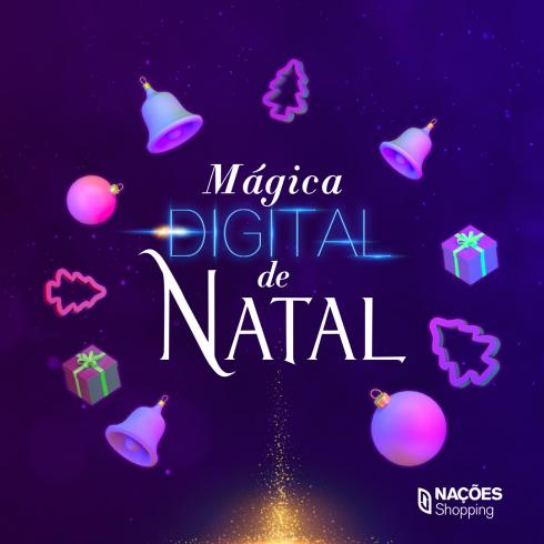 Mágica Digital de Natal: atrações Disney e Papai Noel interativo irão surpreender
