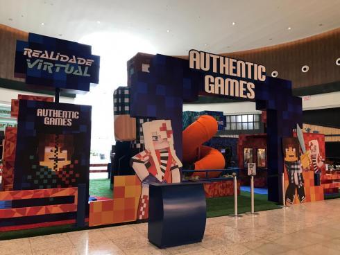 AuthenticGames no Continente Shopping